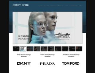 guneyoptik.com screenshot