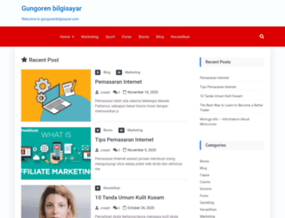 gungorenbilgisayar.com screenshot