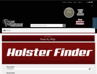 gunholstersunlimited.com screenshot
