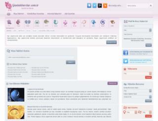 gunlukburclar.com.tr screenshot