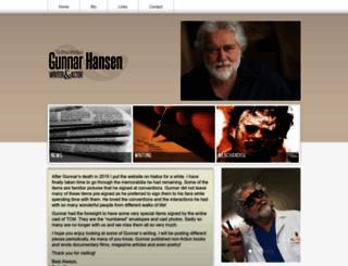 gunnarhansen.com screenshot