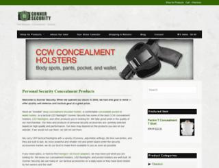 gunnersecurity.com screenshot