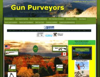 gunpurveyors.com screenshot