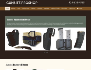 gunsitestore.com screenshot