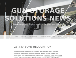 gunstoragesolutions.wordpress.com screenshot