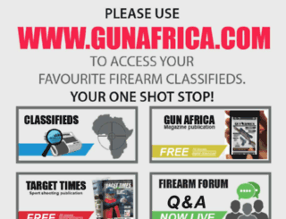 guntree.co.za screenshot