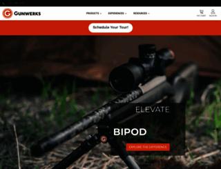 gunwerks.com screenshot