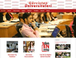 gurcistanuniversiteleri.com.tr screenshot