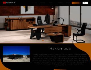 gurelermobilya.com.tr screenshot