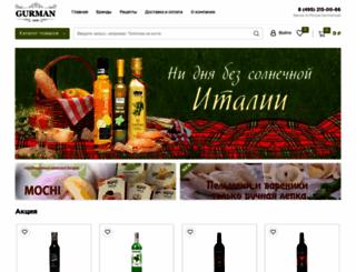 gurmanclub.ru screenshot