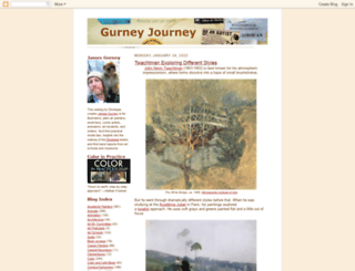 gurneyjourney.blogspot.com screenshot