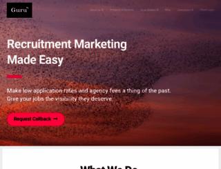 gurucareers.com screenshot