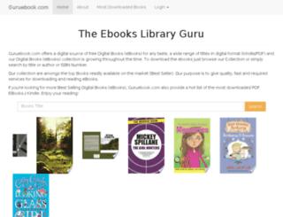 guruebook.com screenshot