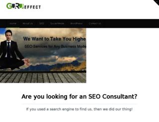 gurueffect.com screenshot