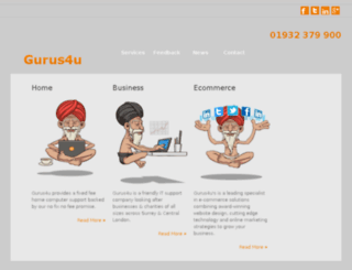 gurus4u.co.uk screenshot