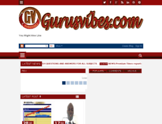 gurusvibes.com screenshot