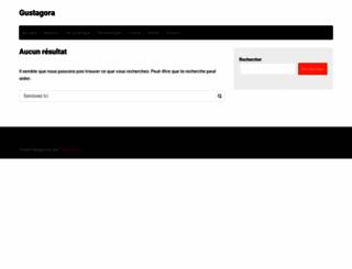 gustagora.com screenshot