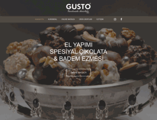 gustocikolatashop.com screenshot