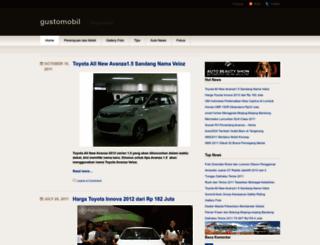 gustomobil.wordpress.com screenshot