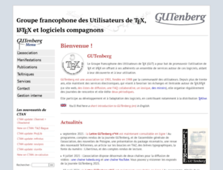 gutenberg.eu.org screenshot