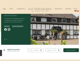 gutmoschenhof.de screenshot