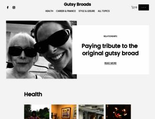 gutsybroads.com screenshot