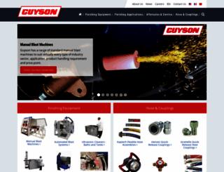 guyson.co.uk screenshot