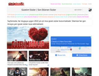 guzelimsozler.com screenshot