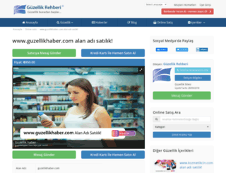 guzellikhaber.com screenshot