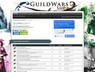 gw2shop.net screenshot
