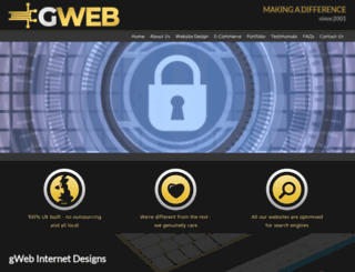 gweb.biz screenshot
