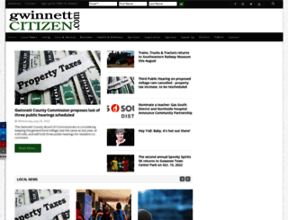 gwinnettcitizen.com screenshot