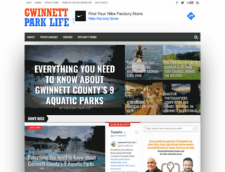 gwinnettparklife.com screenshot