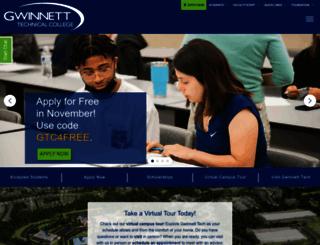 gwinnetttech.edu screenshot
