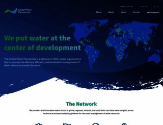 gwp.org screenshot