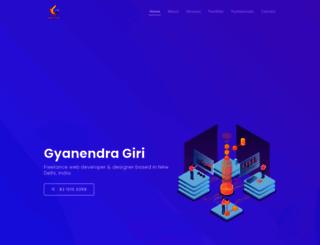 gyanendragiri.in screenshot