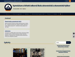gykovy.cz screenshot
