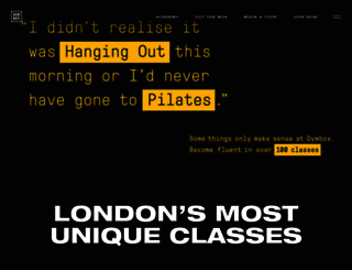 gymbox.com screenshot