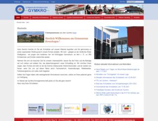 gymnasium-kronshagen.de screenshot
