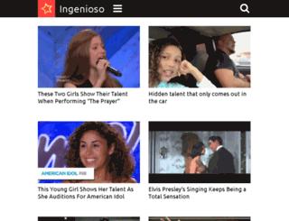 gymnastics.ingenioso.tv screenshot