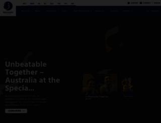 gymnastics.org.au screenshot
