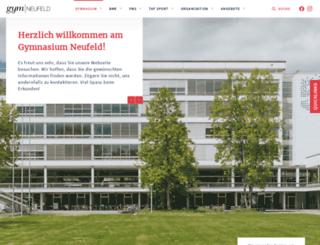 gymneufeld.ch screenshot