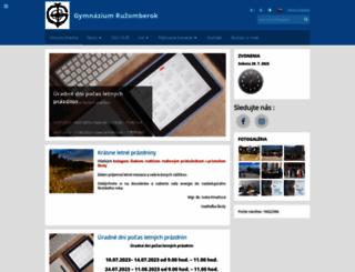 gymrk.sk screenshot
