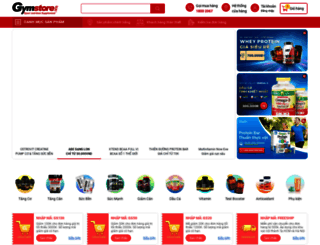 gymstore.vn screenshot