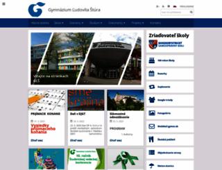 gymzv.sk screenshot