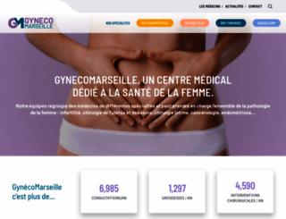 gynecomarseille.com screenshot