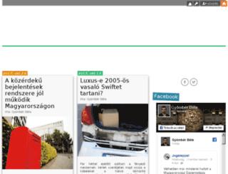 gyomberbela.blog.hu screenshot