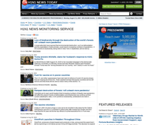 h1n1.einnews.com screenshot