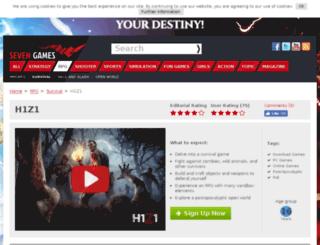 h1z1.browsergamez.com screenshot