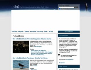 h2g2.com screenshot